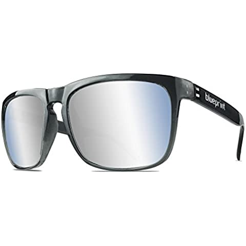 Blue print Ashrock // Platinum Gloss, occhiali