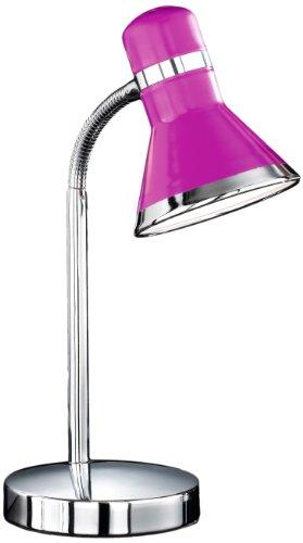 Honsel Leuchten 59831 Tischleuchte chrom pink