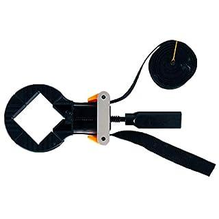 Hycy® Multifunktionsgürtelklemme Holzbearbeitung Schnell Einstellbare Bandklemme Polygonal Clip 90 Grad Handwerkzeuge
