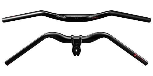 SQlab 302 Comfort Trekking Lenker 2.0-31.8 in Schwarz ergonomischer Fahrradlenker