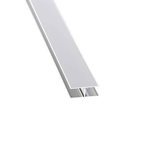 Alu-H-Profil 16 mm Aluminiumprofil 2000 mm lang
