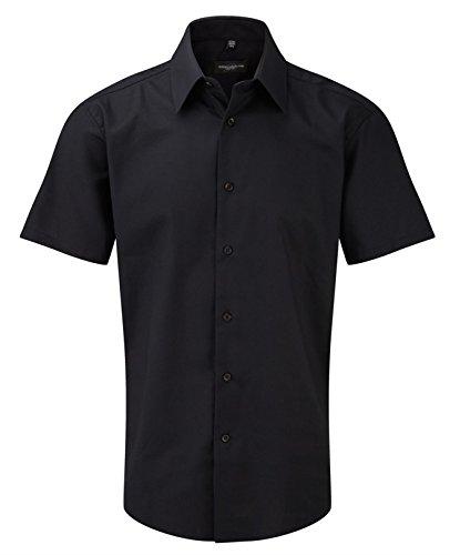 Russell Collection -  Camicia classiche  - Uomo Nero