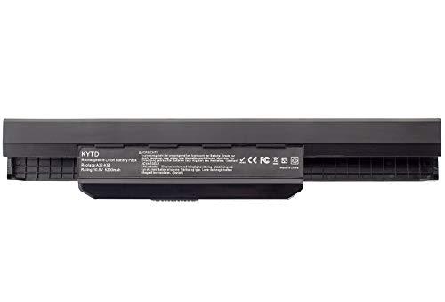 KYTD A32-K53 A41-K53 Batterie pour ASUS K53 K53E K53S K53SJ K53SV K53U X53 X53S X53SV X53U X54 X54C X54F X54H X54L Ordinateur PC Portable (6 Cellules 5200mAh 10.8V)
