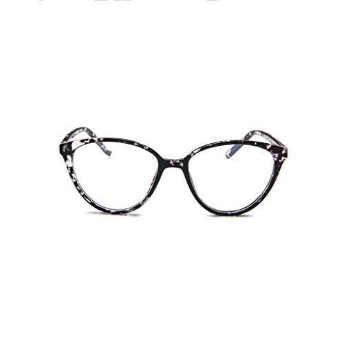 WQIANGHZI Damen Sonnenbrille,Klassische Nerdbrille rund Keyhole 40er 50er Jahre Pantobrille Vintage...