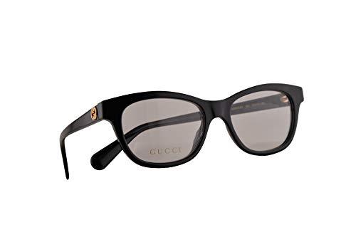 Gucci GG0372O Brillen 51-17-140 Schwarz Mit Demonstrationsgläsern 001 GG 0372O