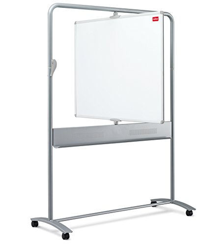 Best Saving for Nobo Classic Steel Mobile Whiteboard (Double Sided Vertical Pivot, 1200 x 900 mm Board Size) on Amazon