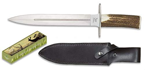 STEEL 440 cuchillo Asta de Ciervo