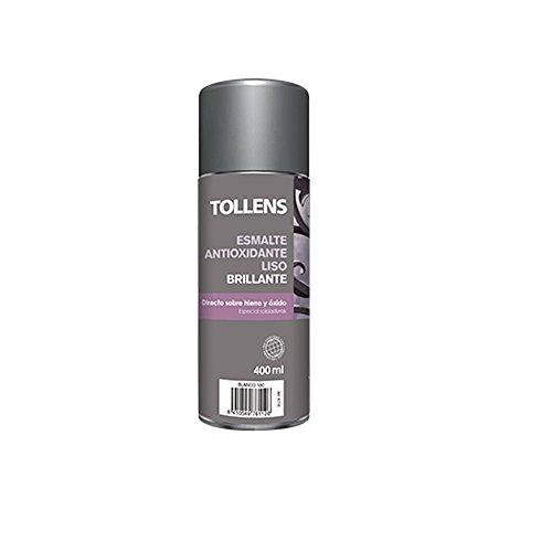 Tollens 8712 Spray Antioxidante Liso Brillo, Blanco, 400 ML