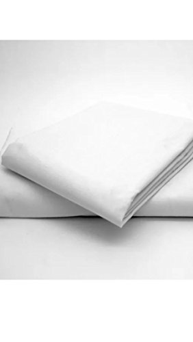 sale sale sale flat sheet with pillow case (3/4 4 ft double bed, white)