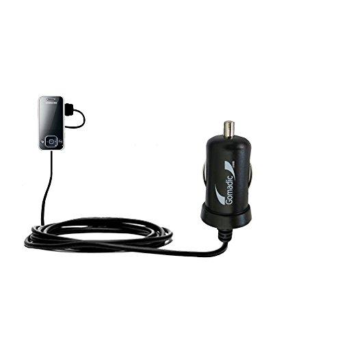10W Mini-Autoladegerät kompatibel mit Samsung SGH-F250 mit Energiespartechnologie und TipExchange