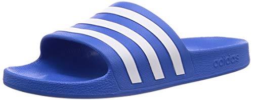 Adidas Adilette Aqua Scarpe da Spiaggia e Piscina Unisex - Adulto, Multicolore (Multicolor 000), 39     EU (6 UK)