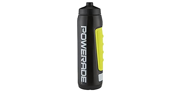 Powerade Perfect Squeeze Sports water Bottle Lemon Lime Yellow 32oz