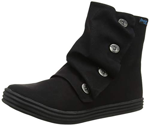 Blowfish Damen Rabbit Stiefeletten, Schwarz (Black Texas PU 020), 39 EU - Stiefel Blowfish Schuhe