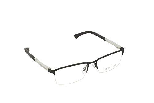Ray-Ban Herren 3094 Brillengestelle, Schwarz (Black Rubber), 55
