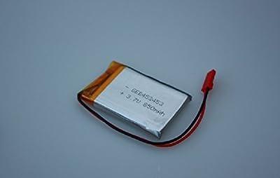 Lipo-Akku 3,7V 850mAh 1S + JST-SYP-2P Stecker + Schutzschaltung