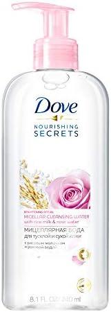 Dove Micellar Water Japanese Rice Milk & Rose Water, 24