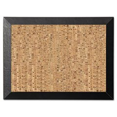Mastervision Natural Cork Bulletin Board, 18x24, Cork/Black - SF0422581012 by MasterVision (Cork Board Mastervision)