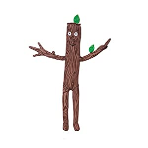 The Gruffalo 60573 Stick Man Plush Toy, Brown 8