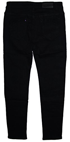 b.s Damen Stretch Jeans Hose S-693 tief-schwarz