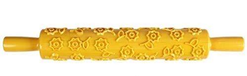 Piccoli monelli mattarello con decorazioni fiori mattarello decorativo per biscotti in plastica per cake design visto in tv