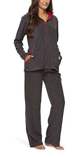 Fleece-Anzug für Damen - SLOUCHER, Farbe:anthrazit;Größe:44/46
