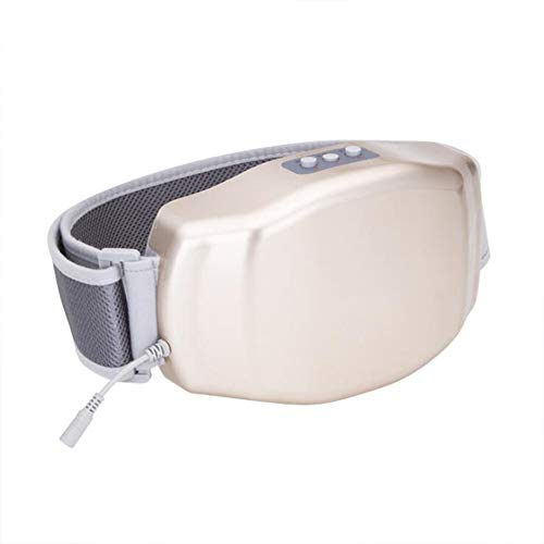 CANDYANA Bauchmassagegerät - Home Kneten des Magen-Darm-Trakts Physiotherapie-Gerät Instrumentenmassage Heiße Kompresse Wiederaufladbar,Gold