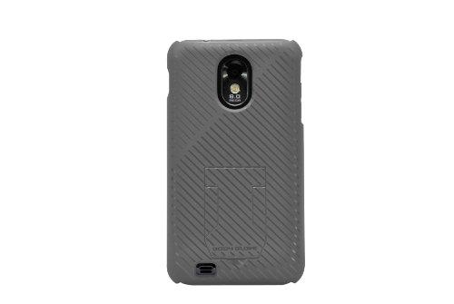 Body Glove Samsung Galaxy S ll und Epic 4G Touch verblasst Handy Fall mit Hideaway Ständer, silberfarben/grau -