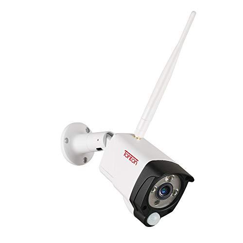 Tonton Full HD 1080P Funk Überwachungskamera 2.0 MP WLAN Kamera Ersatz für Wireless NVR System, 3,6mm Linse, Super 30M Nachsicht PIR Sensor Metallgehäuse (Ersatzkamera für 1080P Funksystem) Video Security-kamera-system