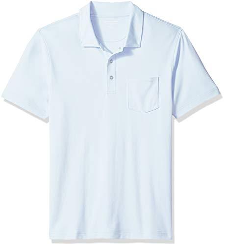 im-Fit Jersey polo-shirts, Light Blue, US (EU XL-XXL) ()