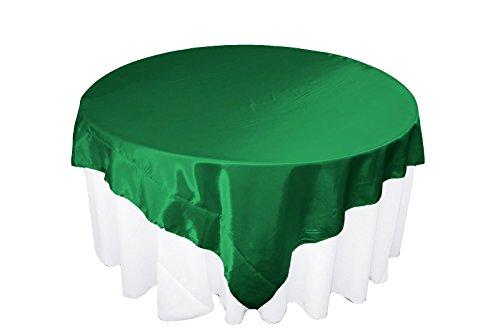 La sposa satin square–tovaglia in lino da 90228, verde kelly
