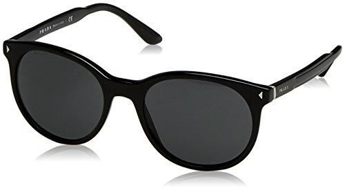 Prada Herren 0PR06TS 1AB5S0 53 Sonnenbrille, Schwarz (Black/Grey),