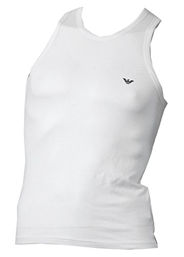 Emporio Armani T-shirt Top (Emporio Armani Tank Top CC725 Weiss Large)