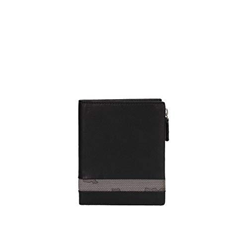 d428cb20ad PORTAFOGLIO UOMO ALVIERO MARTINI 1° CLASSE ART. BVW1425400 pelle colore  nero asfalto dim.