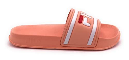 Fila 1010340-71B Morro Bay Damen Sportive Pantolette aus Eva-Material Fußbett, Groesse 42, rosa -