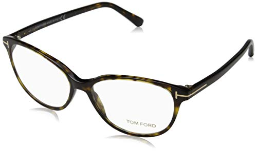 Tom Ford Damen Ft5421 Brillengestelle, Braun (AVANA SCURA), 55
