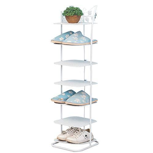 Multi-couche petite étagère à chaussures maison économie d'espace de fer forgé armoire à chaussures de stockage de poussière rack,sevenlayers