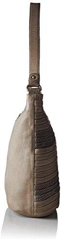 Taschendieb - Td0889, Borsa a spalla Donna Grigio (Light Grey)