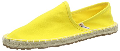 Superga 4524 Cotu, Espadrillas basse Unisex Adulto, Giallo (Yellow 176), 39