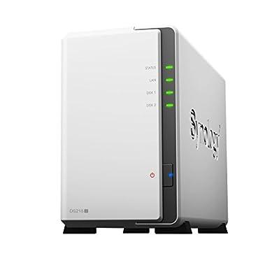 2-bay 3.5 NAS server w/1.0GHz, 512MB RAM, 1xGigabit