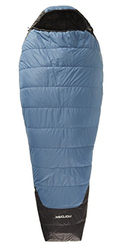 Nordisk Canute +10° Sleeping Bag M real teal/black 2016 Mumienschlafsack