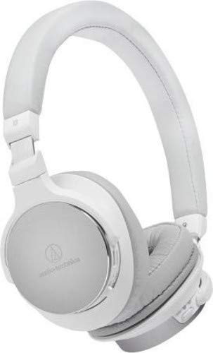 Audio Technica ATH-SR5BT Kabelloser Bluetooth High-Resolution On-Ear Kopfhörer Weiß thumbnail