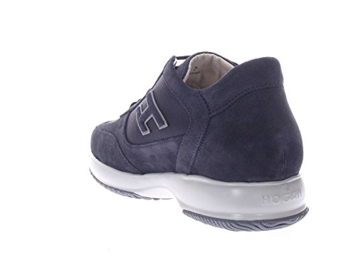 Hogan Uomo Sneaker HXM00N0Q10267A3735 Interactive H Flock Blu Aclaramiento Barato Entrega Rápida Venta Barata Perfecto Para La Venta Descontar Más Barata OqsZTNQIV