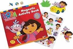 Dora The Explorer Magnetic Activity Book