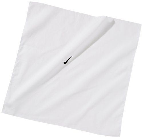 NIKE Damen Stirnband Tennis Swoosh Bandana, White/Black, One size, 411317-100