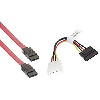 wired up akord 1 sata power adapter cable and 1 sata data cable rh amazon co uk sata power cable wiring sata connector cable