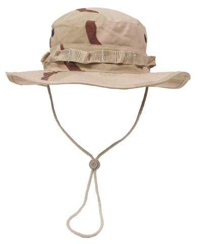 GI Boonie Hat, US Buschhut 3 col. desert tarn S - XL M (56-57cm Kopfumfang) zu Diverse