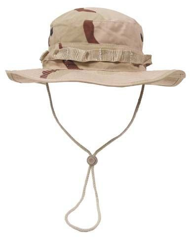GI Boonie Hat, US Buschhut 3 col. desert tarn S - XL L (58-59cm Kopfumfang)