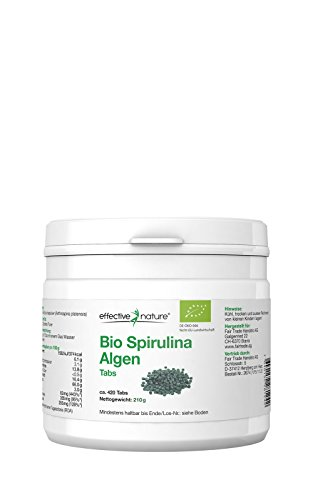 Spirulina Algen Tabs Bio - 420 Stk.