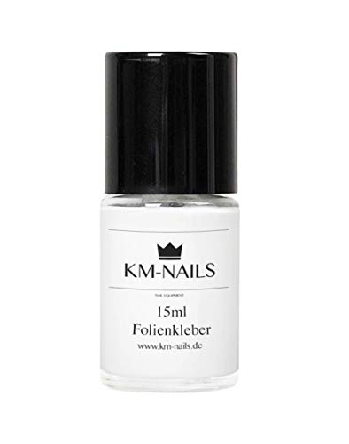 km-nails Lot de 12 ml de colle pour films de Nail Art
