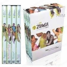 Zumba Workout Routine Fitness Box 4CDs